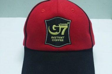 Cơ sở may nón đồng phục quảng cáo sự kiện cho cafe Trung Nguyên