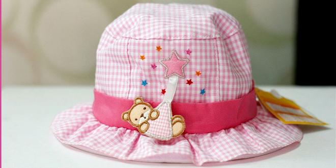 Mũ tai bèo cho bé