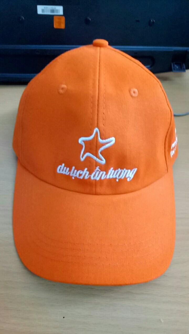 Sản xuất nón cho công ty du lịch 1