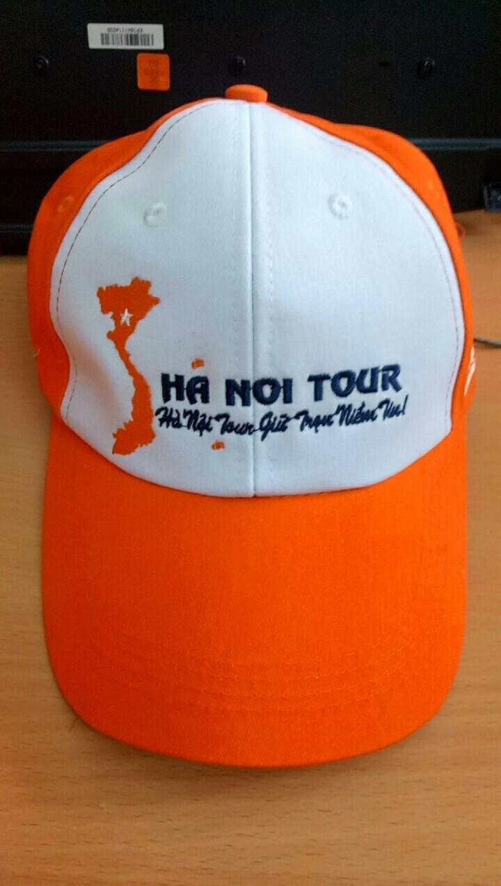 Sản xuất nón cho công ty du lịch 3