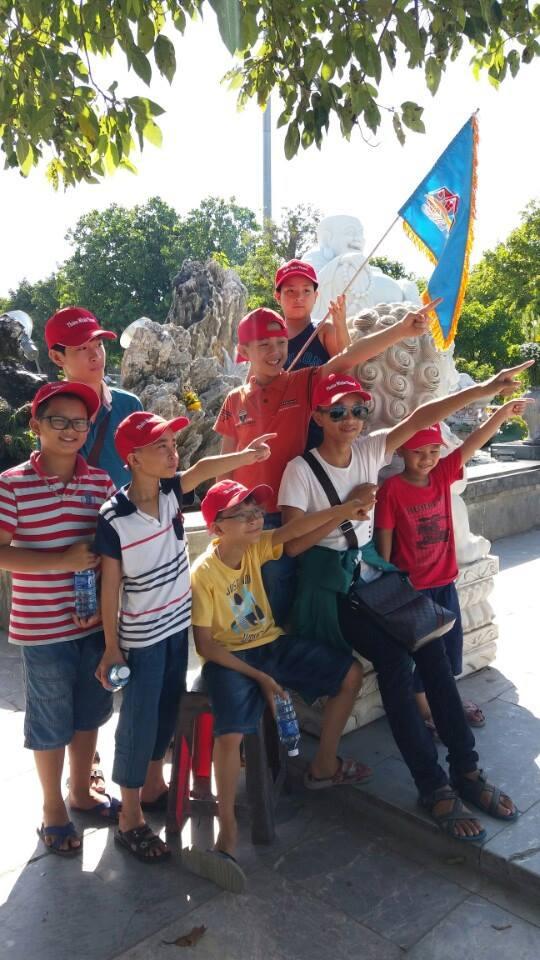 Sản xuất nón du lịch cho công ty Thiên Nhân Travel 2