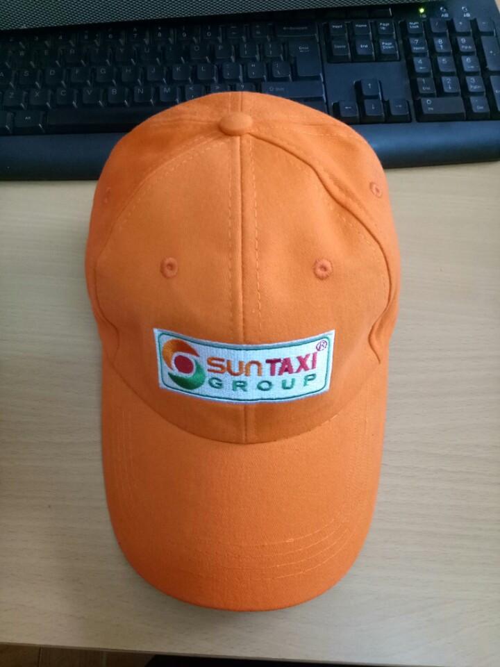 Xưởng may nón đồng phục Én Nhỏ may nón kết cho tập đoàn sun taxi 1