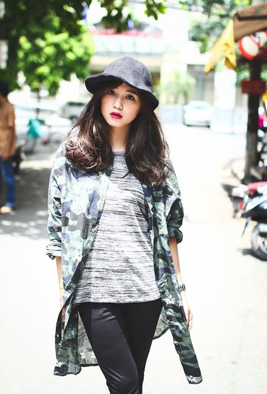 In mũ du lịch tại Hà Nội 2