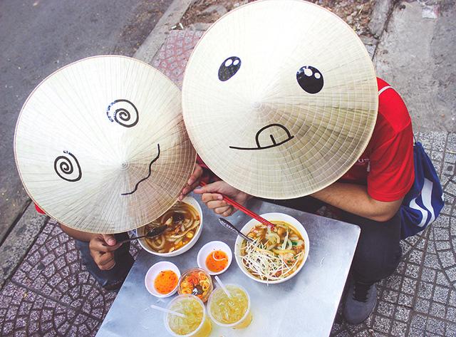 Nón lá du lịch - nét đẹp Việt 4