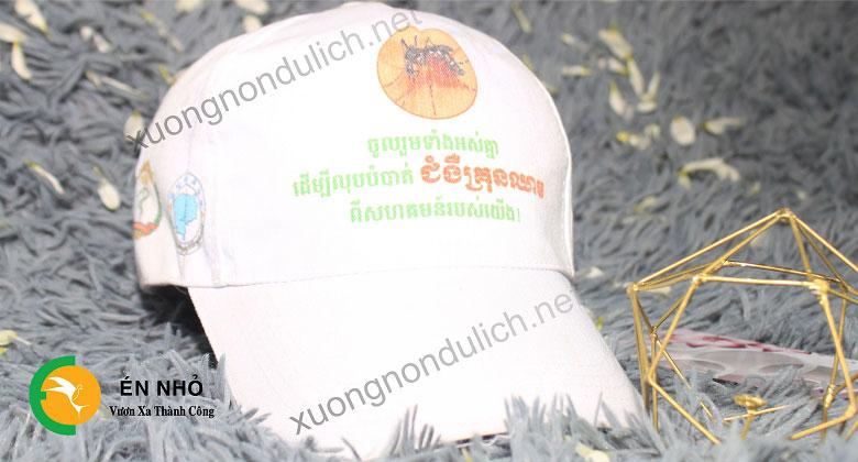 cơ sở mua mũ lưỡi trai